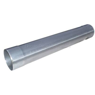 """Exhaust - Exhaust Systems - MBRP - MBRP Universal  5"""" Muffler Delete Pipe 5"""" Inlet /Outlet , 31"""" Overall Length, Aluminized Steel"""