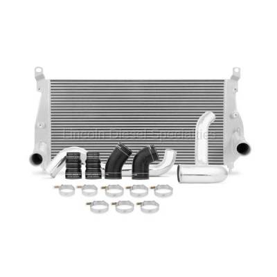 01-04 LB7 Duramax - Intercoolers and Pipes - Mishimoto - Mishimoto MMINT-DMAX-02K Intercooler & Pipe Kit (Silver)