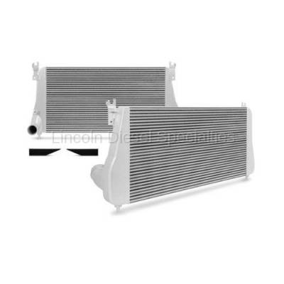 06-07 LBZ Duramax - Intercoolers and Pipes - Mishimoto - Mishimoto MMINT-DMAX-06 Intercooler (Silver)