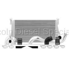 07.5-10 LMM Duramax - Intercoolers and Pipes - Mishimoto - Mishimoto MMINT-DMAX-06K Intercooler Pipe & Boot Kit (Silver)