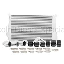 11-16 LML Duramax - Intercoolers and Pipes - Mishimoto - Mishimoto MMINT-DMAX-11K Intercooler & Pipe Kit (Silver)