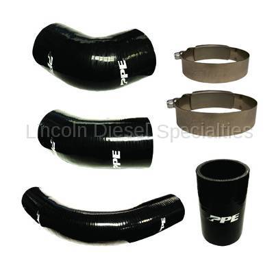 01-04 LB7 Duramax - Intercoolers and Pipes - Pacific Performance Engineering - PPE Silicone Hose & Clamp Kit
