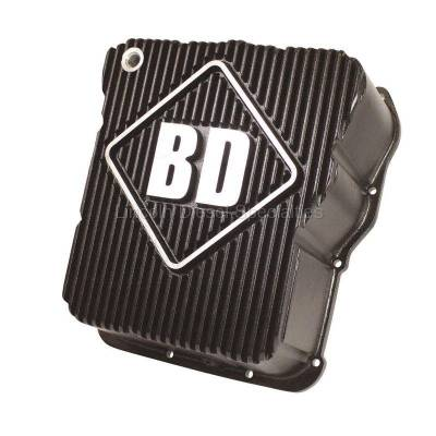 Transmission - Transmission Pans - BD Diesel Performance - BD-Power Deep Sump Allison Transmission Pan - Black Finish (2001-2016)