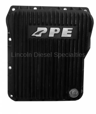 Transmission - Transmission Pans - Pacific Performance Engineering - PPE Low Profile Aluminum Transmission Pan - Black Finish