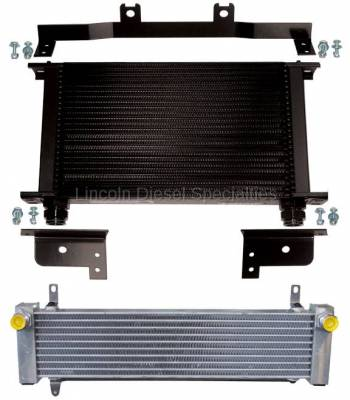 Transmission - Coolers & Lines - Pacific Performance Engineering - PPE Performance Transmission Cooler - Orange Clips( 2001-2003)