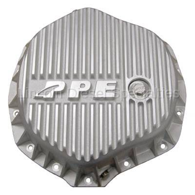 "Axle and Differential - 11.5"" Rear Axle - Pacific Performance Engineering - PPE Heavy Duty Differential Cover - Raw (GM-2001-2018)(Cummins 2003-2018)"