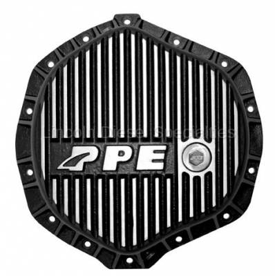"Axle and Differential - 11.5"" Rear Axle - Pacific Performance Engineering - PPE  Heavy Duty Differential Cover - Brushed (GM-2001-2018)(Cummins 2003-2018)"