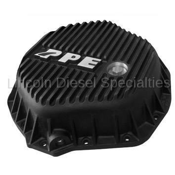 "Axle and Differential - 11.5"" Rear Axle - Pacific Performance Engineering - PPE Heavy Duty Differential Cover - Black (GM-2001-2018)(Cummins 2003-2018)"