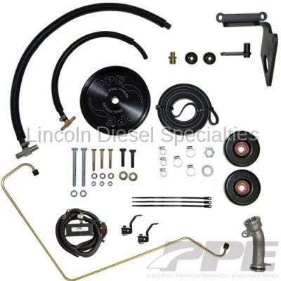 Fuel System - Aftermarket Fuel System - Pacific Performance Engineering - PPE Dual Fueler Kit (No Pump) (LLY)