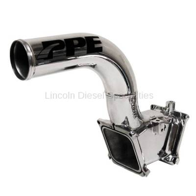 "07.5-10 LMM Duramax - Air Intake - Pacific Performance Engineering - PPE High Flow Intake Manifold 3"" Polished Aluminium"