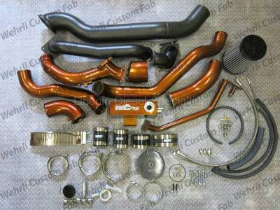 Turbo Kits, Turbos, Wheels, and Misc - Twin Turbo Kits - WCFab - Wehrli Custom Fab LB7 Stock/S400 Twin Turbo Kit (2001-2004)*