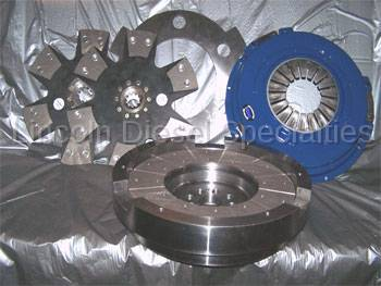 Transmission - Manual Transmission Clutches - South Bend Clutch - South Bend Double Disc Duramax Clutch