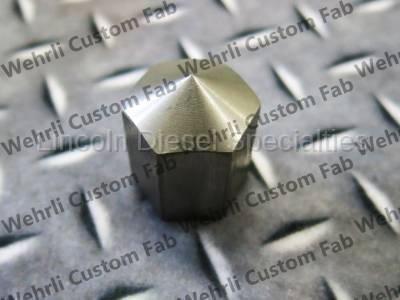 Fuel System - Aftermarket Fuel System - WCFab - Wehrli Custom Fab Stainless Steel Nut (2001-2016)*