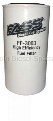 01-04 LB7 Duramax - Filters - Fass - FASS Fuel Systems Titanium Series Replacement Fuel Filter