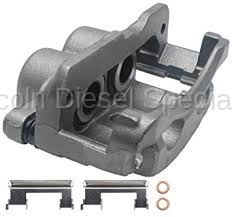Brake Systems - Master Cylinder & Calipers - GM - GM Duramax Remanufactured Left Rear Brake Caliper (2001-2010)
