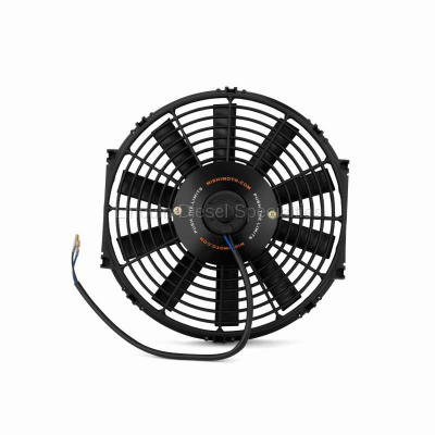 "Cooling System - Cooling Fans and Fan Parts - Mishimoto - Mishimoto Slim Electric Fan 12"" Black (Universal)"
