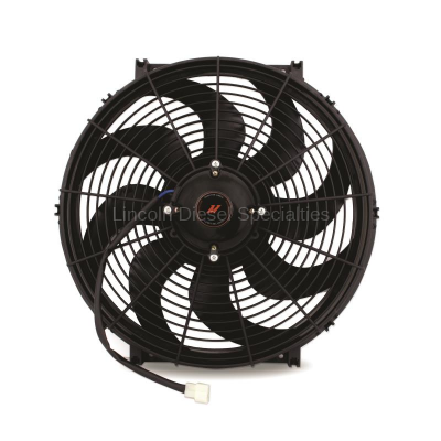 "Cooling System - Cooling Fans and Fan Parts - Mishimoto - Mishimoto Race Line  High-Flow Fan 16"" (Universal)"