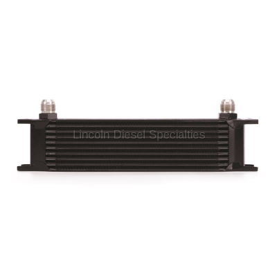 Cooling System - Oil Coolers - Mishimoto - Mishimoto Universal 10 Row Oil Cooler (Black)