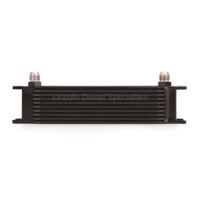 Mishimoto Universal 10 Row Oil Cooler (Black)