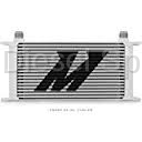 Cooling System - Oil Coolers - Mishimoto - Mishimoto Universal 19 Row Oil Cooler (Silver)