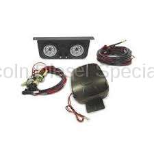 Suspension - Traction Bars - AIR LIFT - AirLift Load Controller II Onboard Air Compressor System - Dual Gauge (Universal)