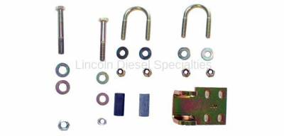 Suspension - Shocks - Rancho - Rancho Steering Damper Bracket Kit