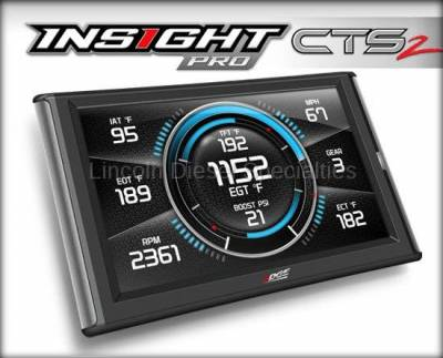 07.5-10 LMM Duramax - Tuners and Programmers - Edge - Edge Insight Pro CTS2 (Custom Tuning Enabled)