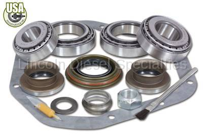 """Axle and Differential - 9.25"""" Front Axle - USA Standard Gear - USA Standard Bearing Kit for '11 &Up GM 9.25"""" IFS front."""