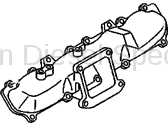 Engine - Components - GM - GM OEM Intake Manifold Runner (RH)(2006-2010)