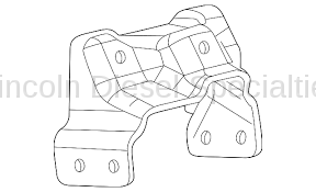 Engine - Components - GM - GM Engine Bracket Mount-Driver's Side (2001-2010)