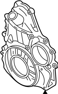 Engine - Components - GM - GM Engine Timing Cover