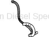 Cooling System - Hoses, Hose Kits, Pipes and Clamps - GM - GM OEM Hose Coolant Recovery Tank (2001-2005)