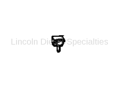 Brake Systems - Lines & Hardware - GM - GM OEM Wheel Speed Sensor Middle Retaining Clip (2001-2007)