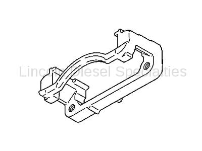 Brake Systems - Lines & Hardware - GM - GM Front Caliper Support Bracket (Passenger Side) 2001-2010