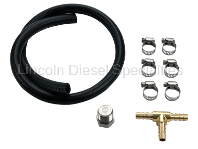 Fuel System - Aftermarket Fuel System - WCFab - Wehrli Custom Fab Fuel Pressure Relief Valve Delete Kit for LB7(2001-2004)*