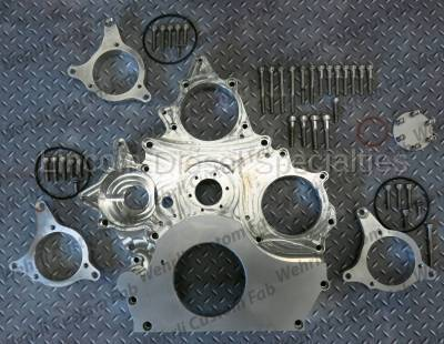 WCFab - Wehrli Custom Fab Duramax Billet Front Engine Cover (2001-2016)