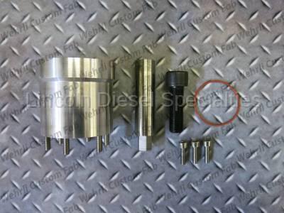 WCFab - Wehrli Custom Fab Duramax Billet Front Engine Cover- Fuel Pump Drive Kit (2001-2016)