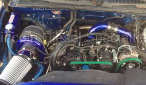 Turbo Kits, Turbos, Wheels, and Misc - Install Kits - WCFab - Wehrli Custom Fab Remote Mount Kit Duramax LLY (2004.5-2005)