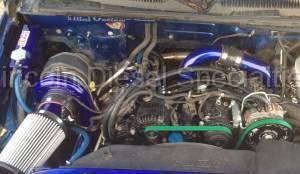 Turbo Kits, Turbos, Wheels, and Misc - Install Kits - WCFab - Wehrli Custom Fab Remote Mount Kit Duramax LMM (2007.5-2010)