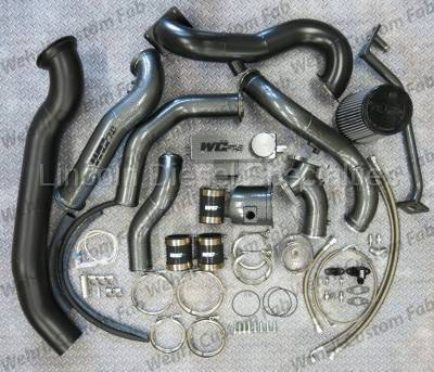 Turbo Kits, Turbos, Wheels, and Misc - Twin Turbo Kits - WCFab - Wehrli Custom Fab S500/S400 Twin  Duramax Kit (2001-2016)