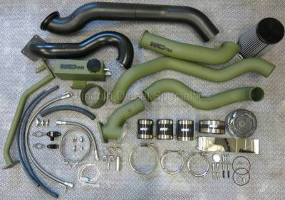 Turbo Kits, Turbos, Wheels, and Misc - Twin Turbo Kits - WCFab - Wehrli Custom Fab S400/S300 Twin Duramax LLY Kit (2004.5-2005)