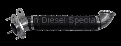 "WCFab - Wehrli Custom Fab Duramax LML 3"" Stainless Down Pipe (2015.5-2016)"