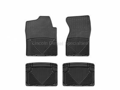 01-04 LB7 Duramax - Interior Accessories - WeatherTech - WeatherTech Duramax Front And Rear All Weather Floor Mats(Black) 2001-2007