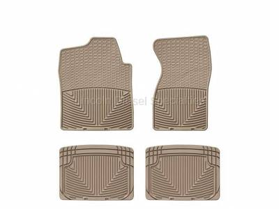 01-04 LB7 Duramax - Interior Accessories - WeatherTech - WeatherTech Duramax Front And Rear All Weather Floor Mats (Tan) 2001-2007
