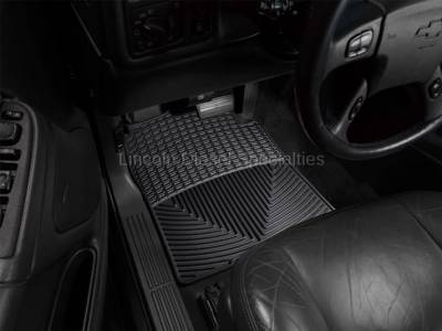 01-04 LB7 Duramax - Interior Accessories - WeatherTech - WeatherTech Duramax  Driver & Passenger All-Weather Floor Mats (Black) 2001-2007
