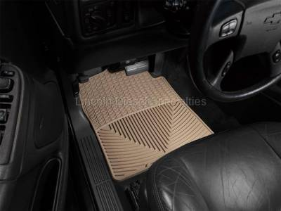 01-04 LB7 Duramax - Interior Accessories - WeatherTech - WeatherTech Duramax  Driver & Passenger All-Weather Floor Mats (Tan) 2001-2007