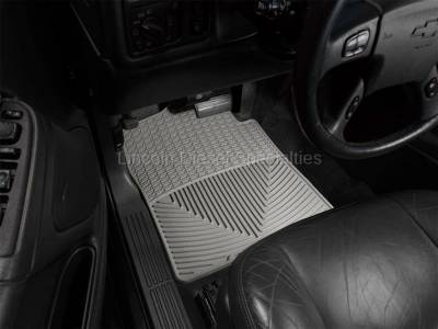 01-04 LB7 Duramax - Interior Accessories - WeatherTech - WeatherTech Duramax  Driver & Passenger All-Weather Floor Mats (Grey) 2001-2007