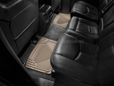 01-04 LB7 Duramax - Interior Accessories - WeatherTech - WeatherTech Duramax  Rear Only All-Weather Floor Mats (Tan) 2001-2007