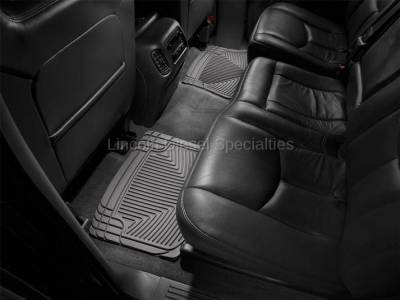 01-04 LB7 Duramax - Interior Accessories - WeatherTech - WeatherTech Duramax  Rear Only All-Weather Floor Mats (Grey) 2001-2007