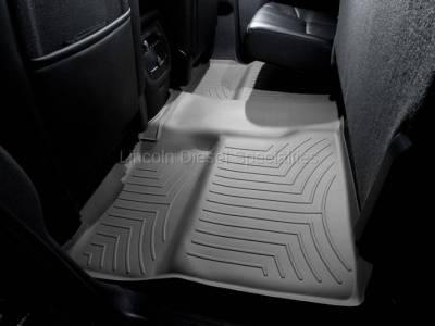 07.5-10 LMM Duramax - Interior Accessories - WeatherTech - WeatherTech Duramax 2nd Row Only Floor Liner with Full Underseat Coverage (Grey) 2007.5-2014
